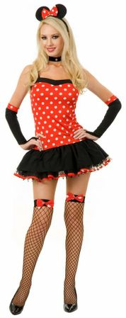 Adult Miss Mouse Hottie Costume