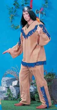 Adult Native American Brave Costume, Size M/L