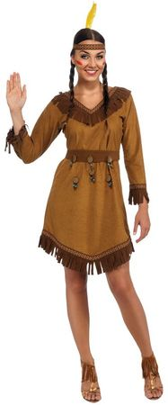 Adult Native American Woman Costume, Size M/L