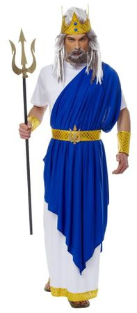 Adult Neptune God of the Sea Costume