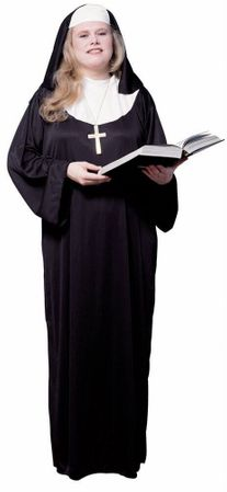 Adult Nun Costume - M/L and Plus Sizes