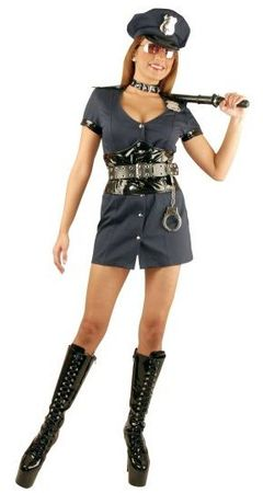 Adult Officer Naughty Costume
