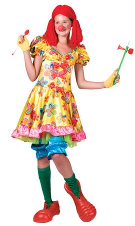 Adult Oops-a-Daisy Clown Costume