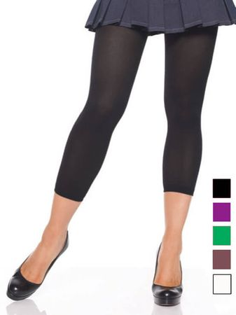 Adult Opaque Footless Tights - More Colors