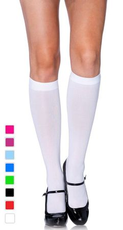 Adult Opaque Knee High Stockings - More Colors
