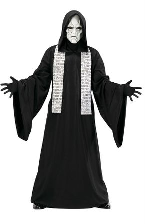 Adult Phantom Mime Costume, Size M/L