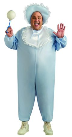 Adult Plus Size Baby Boy Costume