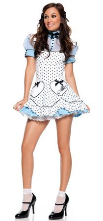Adult Polka Dot Alice Sexy Costume