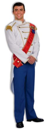 Adult Prince Charming Costume, Size M/L