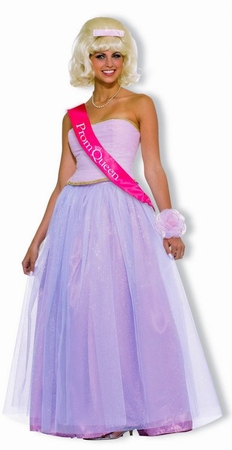 Adult Prom Queen Costume, Size M/L
