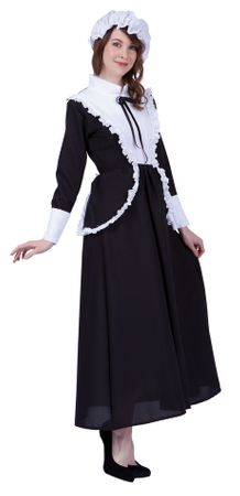 Adult Proper Pilgrim Lady Costume