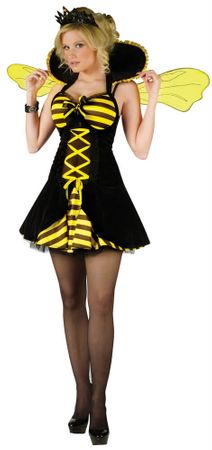 Adult Queen Bee Costume, Size S/M