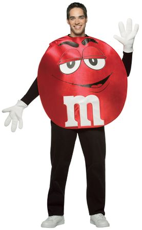 Adult Red MM Costume