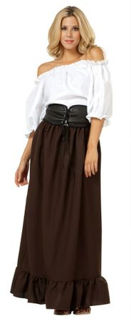 Adult Renaissance Peasant Wench Costume, Size M/L