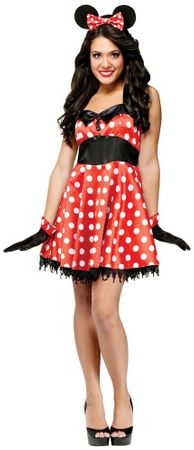 Adult Retro Miss Mouse Costume