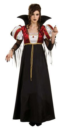 Adult Royal Vampira Costume, Size M/L