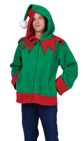 Adult Santa's Helper Costume Hoodie