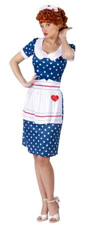 Adult Sassy I Love Lucy Costume