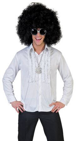 Adult Saturday Night White Disco Shirt