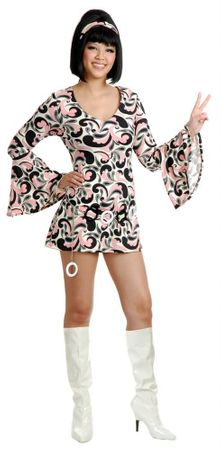 Adult Sausolito Sweetie 60's Go Go Costume