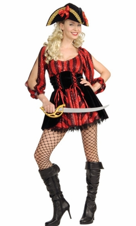 Adult Sea Queen Pirate Costume