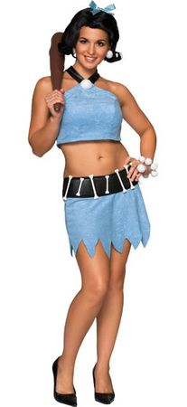 Adult Sexy Betty Rubble Costume, Size XS