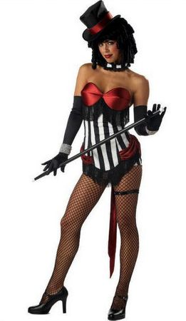 Adult Sexy Burlesque Beauty Costume
