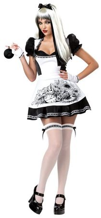 Adult Sexy Dark Alice Costume