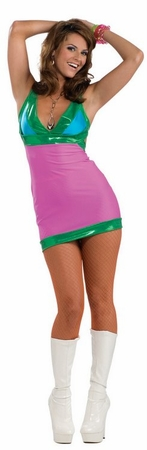 Adult Sexy Go Go Bright Costume