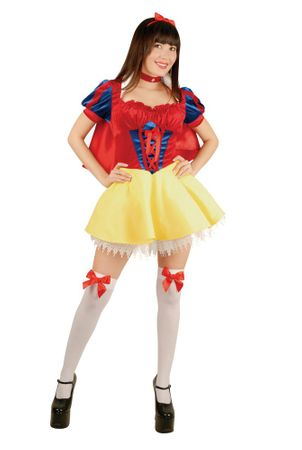 Adult Sexy Lace-up Snow White Costume