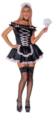 Adult Sexy Merry Maid Costume