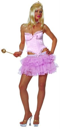 Adult Sexy Pink Fairy Tale Costume