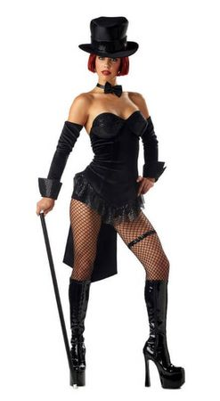 Adult Sexy Ring Master Costume, Size Medium