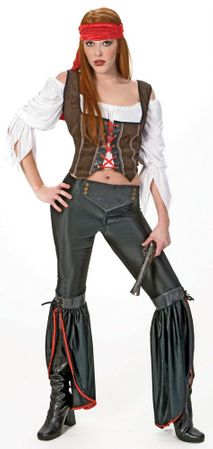 Adult Sexy Stowaway Pirate Costume