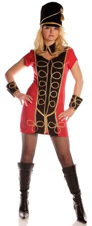 Adult Sexy Toy Soldier Costume, Size Large