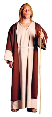 Adult Shepherd or Jesus Costume, Size M/L