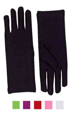 Adult Short Dress Gloves - More Colors