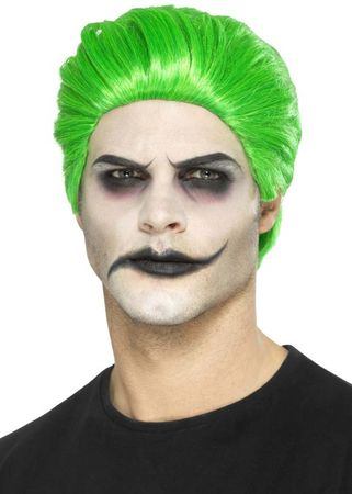 Adult Slick Trickster Green Wig