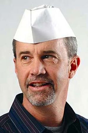 Adult Soda Jerk Paper Hats 12-Pack