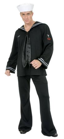 Adult Men's South Seas Sailor Costume