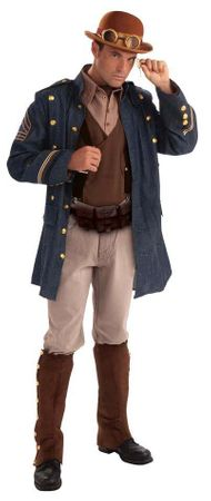 Adult Steampunk General Costume, Size M/L