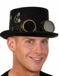 Adult Steampunk Hat with Goggles