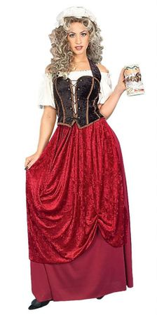 Adult Tavern Wench Costume, Size M/L