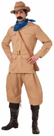 Adult Theodore Roosevelt Costume - Standard and Plus