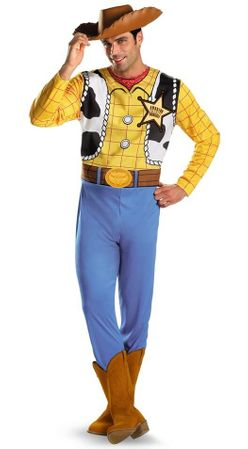Adult Toy Story Woody Costume
