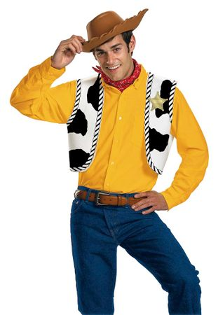 Adult Toy Story Woody Costume Kit