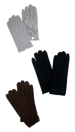 Adult Victorian Gloves With Snaps