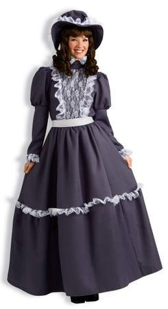 Adult Victorian Pioneer Lady Costume, Size M/L