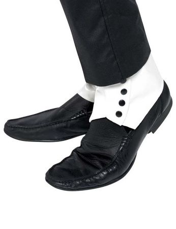Adult White Spats