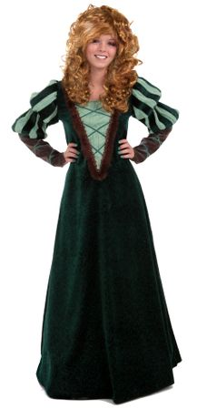 Deluxe Women's Medieval Forest Princess Costume